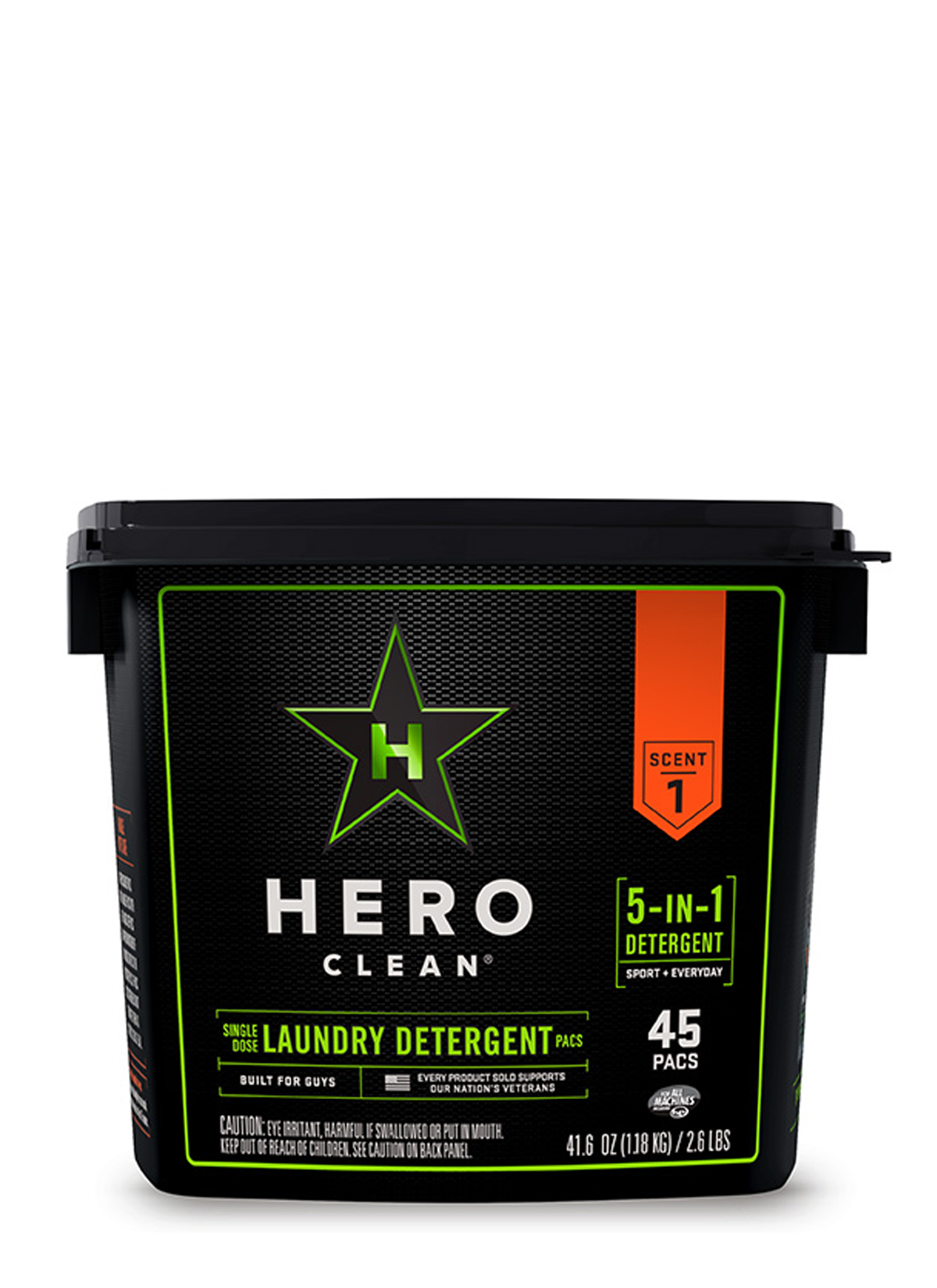 Hero Clean Laundry Pacs